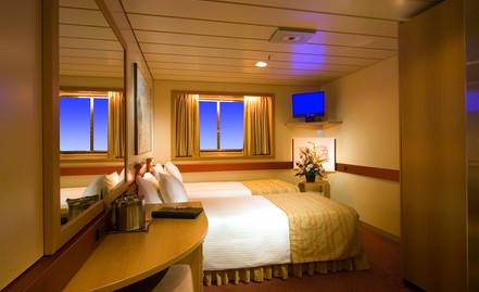 Ocean View Stateroom - call for rates