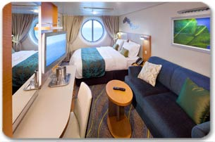 Ocean View Stateroom - CALL FOR AVAILABILITY