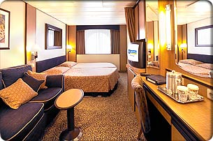 Ocean View Stateroom - Call for Pricing